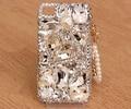 Bling Роскошные Кристаллы Сердце Кисточкой Diamonds Hard Case Cover Для Samsung Galaxy J1 J3 J5 2016 J510 S6 Edge Plus S7 Примечание 5 Примечание 7