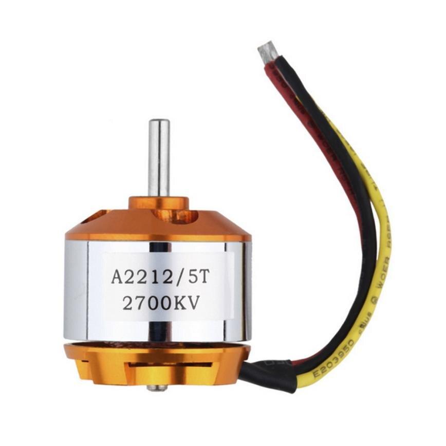 A2212 KV2700 Motor eléctrico sin escobillas para RC de ala fija 4-eje de Multicopter Q40 AUG29