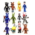 12pcs/set Anime figure Five Nights at Freddy About 10cm PVC Action figure toys Freddy Toy  Collection Model Children Kids Toys