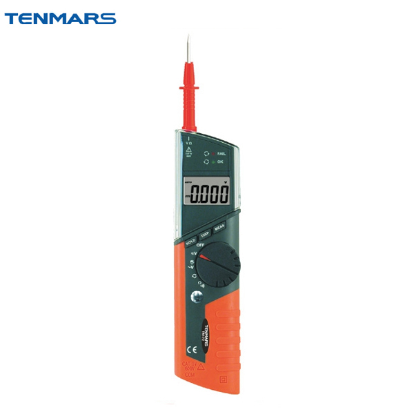 TM-71 Pen Type Pocket Multimeter CAT IV 600V LCD Display with Maximum Reading of 4000 tm 204 light meter with 3 1 2 digits lcd with maximum reading 2000
