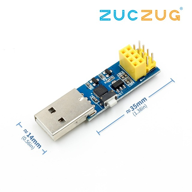 ESP8266 ESP-01/ESP-01S WIFI Module Adapter Download Debug Link Kit for Arduino IDE USB to ESP8266 ESP-01s DIY Kit