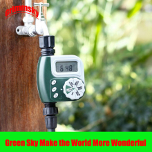 high quality LCD waterproof garden water timer