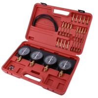 A8032 Universal Four In One Fuel Vacuum Carburetor Synchronizer Set Sync Gauge Vacuum Hoses Extensions Kit For Motorcycle 2018