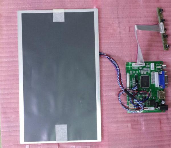 NoEnName Null Raspberry Pi 11 6 inch HDMI VGA 2AV 1366 768 HD TFT LCD display
