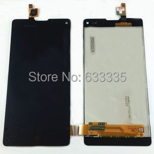 ФОТО LCD Display Touch Screen Digitizer Assembly For ZTE Nubia Z5S mini NX403A front outer glass black white