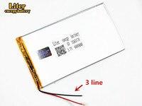 Tableta pc de 3 líneas 3285170 3 7 V 6000MAH (batería de polímero de iones de litio) batería de iones de litio para tableta pc 7 pulgadas 8 pulgadas 9 pulgadas|Baterías y energía auxiliar de tableta| |  -