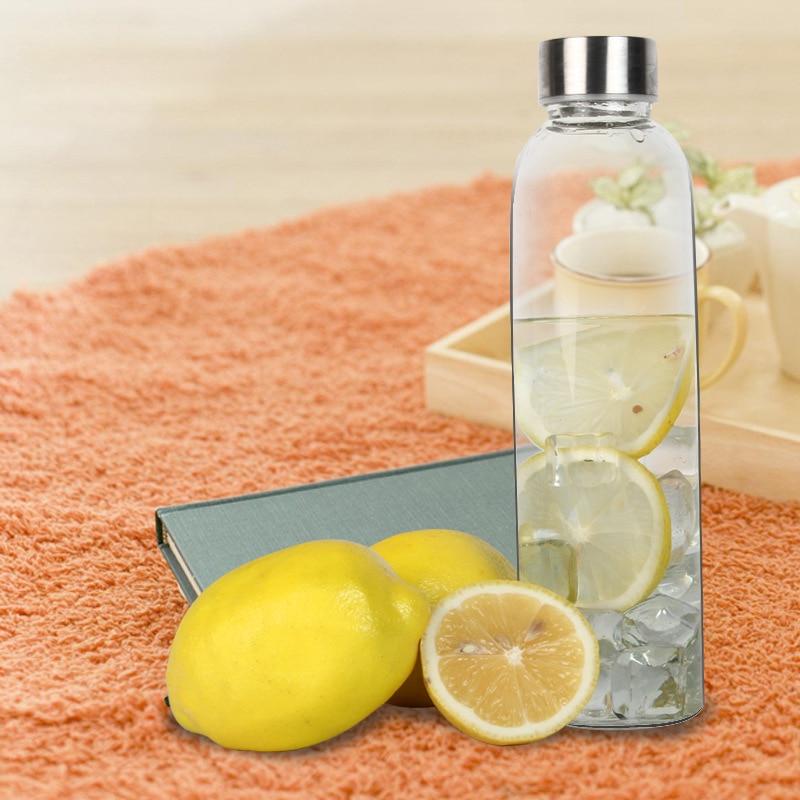 Sport Style Glass Water Bottle