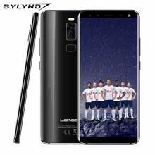 LEAGOO S8 5.72 Pouce Bord-Moins 18:9 Affichage Android 7.0 MTK6750T Octa Core 3 GB RAM 32 GB 13MP 4 Caméras D'empreintes Digitales 4G téléphone