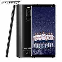 S8 5.72 Cal Wyświetlacz Krawędzi-Mniej 18:9 LEAGOO Android 7.0 MTK6750T Octa Rdzeń 3 GB RAM 32 GB 13MP 4 Linii Papilarnych Aparaty 4G telefon
