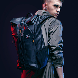 Image 5 - Tangcool 남자 패션 배낭 15.6 노트북 배낭 가방 방수 배낭 대학생을위한 일일 학교 배낭