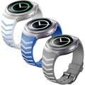 Feitong mejor calidad de lujo tpu de goma de silicona venda de reloj de la correa para samsung galaxy gear s2 sm-r720 reemplazo de las correas de accesorios