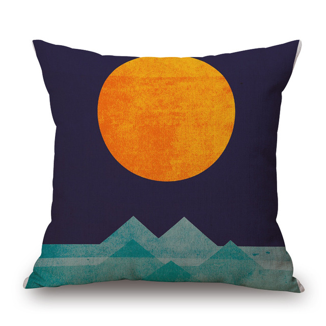 Colorful Triangles Pillowcase