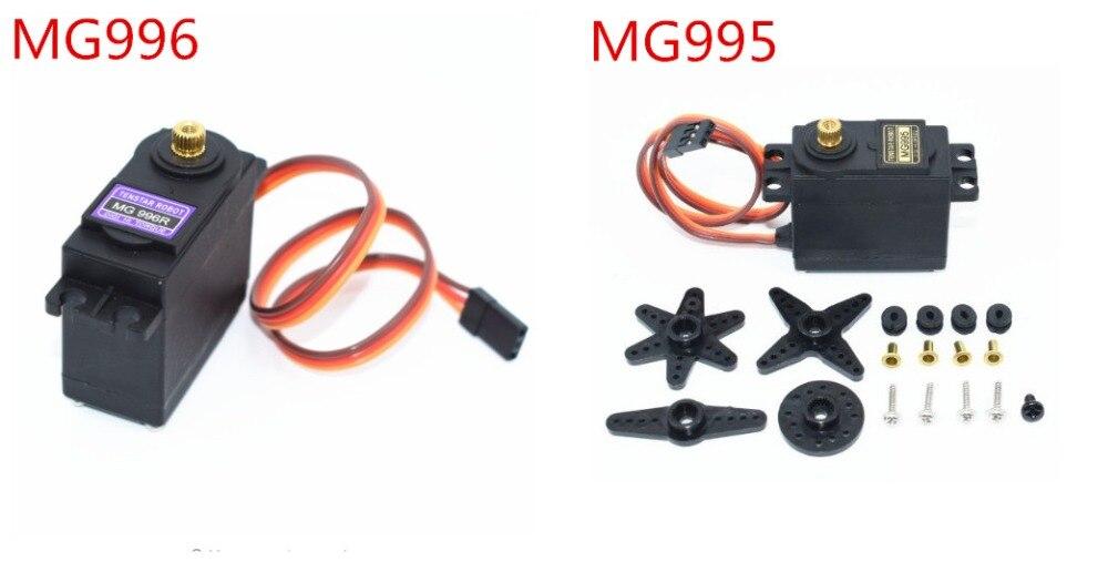 20PCS Servos Digital MG996R MG995 Servo Metal Gear for Futaba JR Car RC Model Helicopter Boat