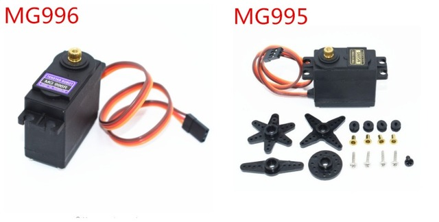 20PCS Servos דיגיטלי MG996R MG995 סרוו מתכת ציוד עבור Futaba JR רכב RC דגם מסוק סירת MG995