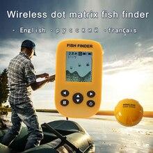 Brand New KDR  Dot Matrix Fish Finder smart sonar sensor, Wireless Fish finder  Free Shipping