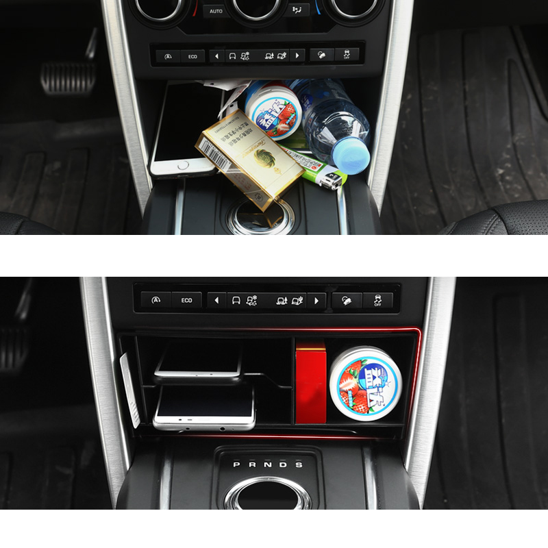 lsrtw2017 abs car armrest plate storage box for land rover discovery sport 2014 2015 2016 2017 2018 2019 in Interior Mouldings from Automobiles Motorcycles