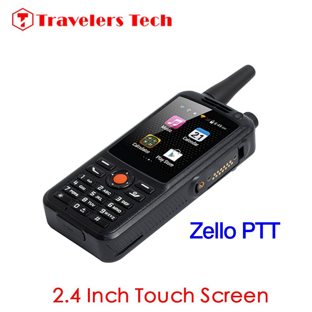 Цена за ALPS F22 Dual SIM 3 Г WCDMA Zello PTT Walkie Talkie Мобильный телефон 3500 мАч 2.4 Inch Сенсорный Экран 512 МБ RAM 4 ГБ ROM Android 4.4