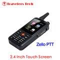 F22 ALPES Dual SIM 3G WCDMA Zello PTT Walkie Talkie Móvil teléfono 3500 mAh Pantalla Táctil de 2.4 Pulgadas 512 MB RAM 4 GB ROM Android 4.4