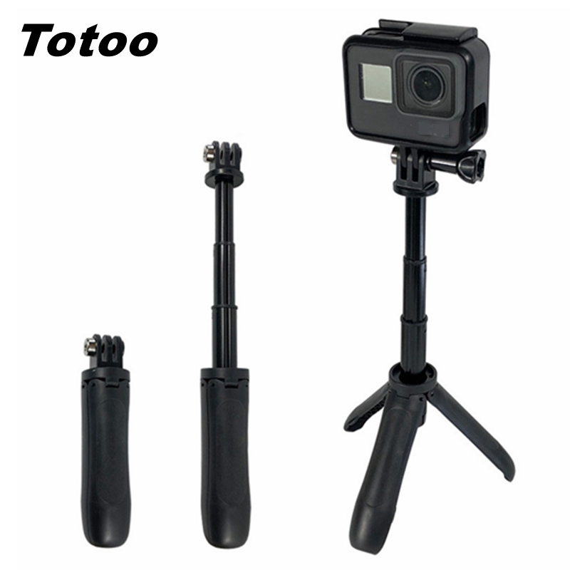 Pocket Pole Mini Selfie Stick+Extendable Handle Tripod Steady For GoPro Hero 7 Hero 6 5 4Sessi Insta360 Xiaomi Yi 4K+EKEN SJCAM - ANKUX Tech Co., Ltd