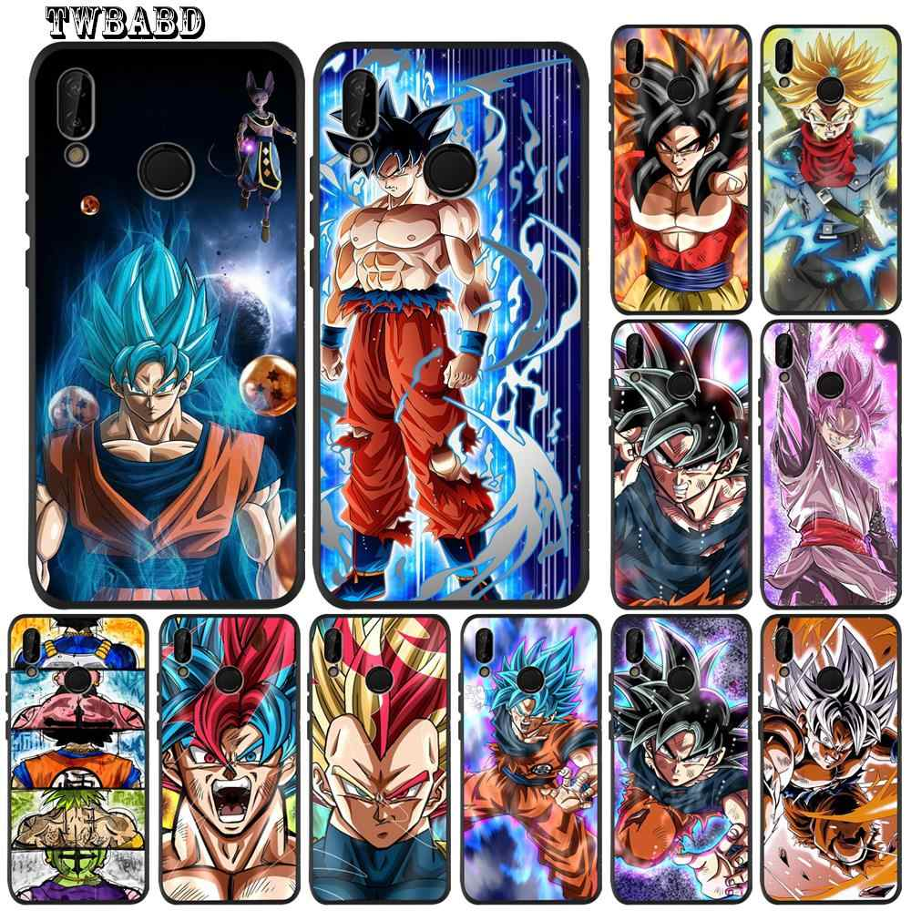 Dragon Ball Z Goku Soft Silicone Tpu Cover phone Case for Huawei P20 Lite Pro P30 Lite P8Lite P9Lite 2017 P Smart