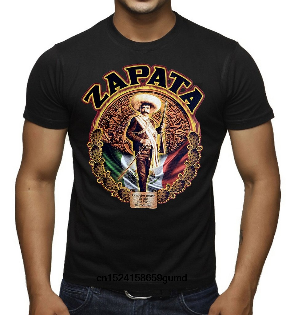 Emiliano Zapata Men/'s T-Shirt L