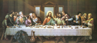 Special Offer Christian Jesus Art The Last Supper CANVAS PRINT OIL Painting TOP Art Work Painting