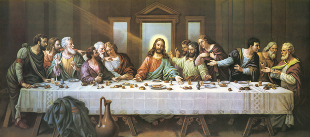 special offer christian jesus art the last supper canvas print oil