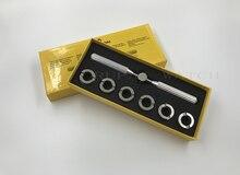 No.5537 6 사이즈/세트 18.5 29.5mm 시계 케이스 백 오프너 및 RLX 시계 수리 용 클로저
