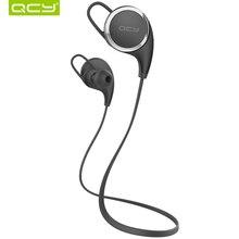 Qcy qy8 aptx deportes auriculares inalámbricos bluetooth 4.1 auriculares auriculares con el mic llamadas de música mp3 auriculares para ios android