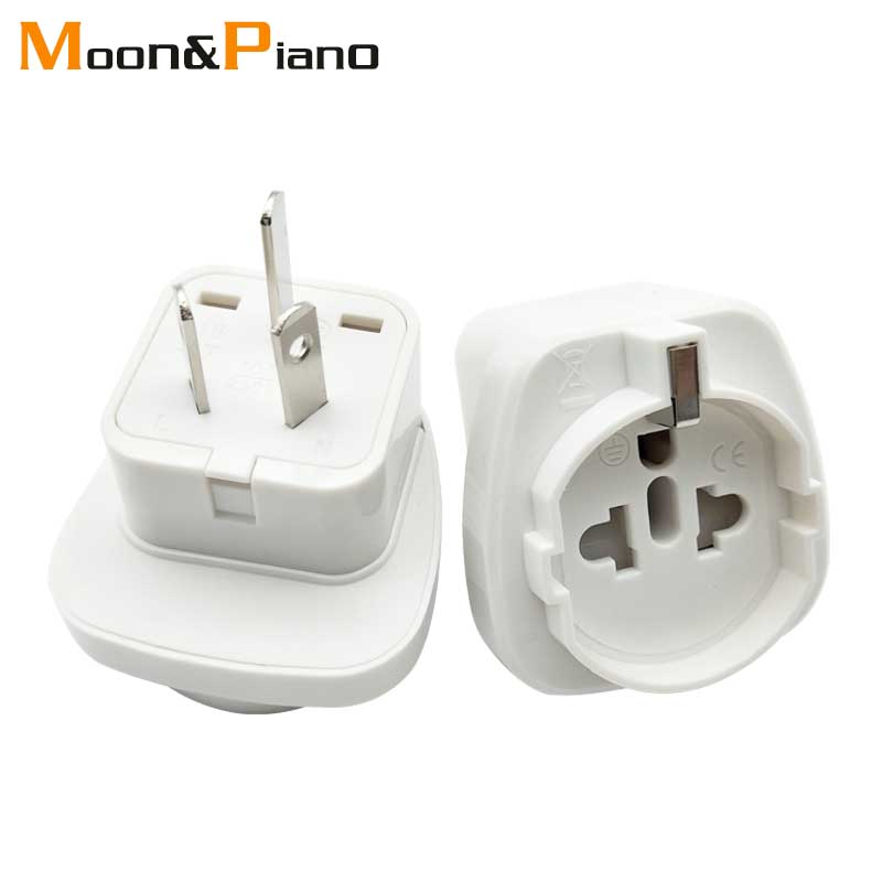 1PC Electric Plug Power Socket Adapter Australia Travel Adaptor EU US TO AU Socket AC Power Charger Converter 10A 250V