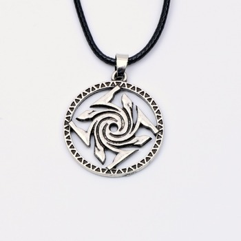 Garud's Amulet Necklace Symbol of the Magician Knowledge Protection Wisdom Pendant Mystic Force Mystery Paggan Wiccan Jewelry 1