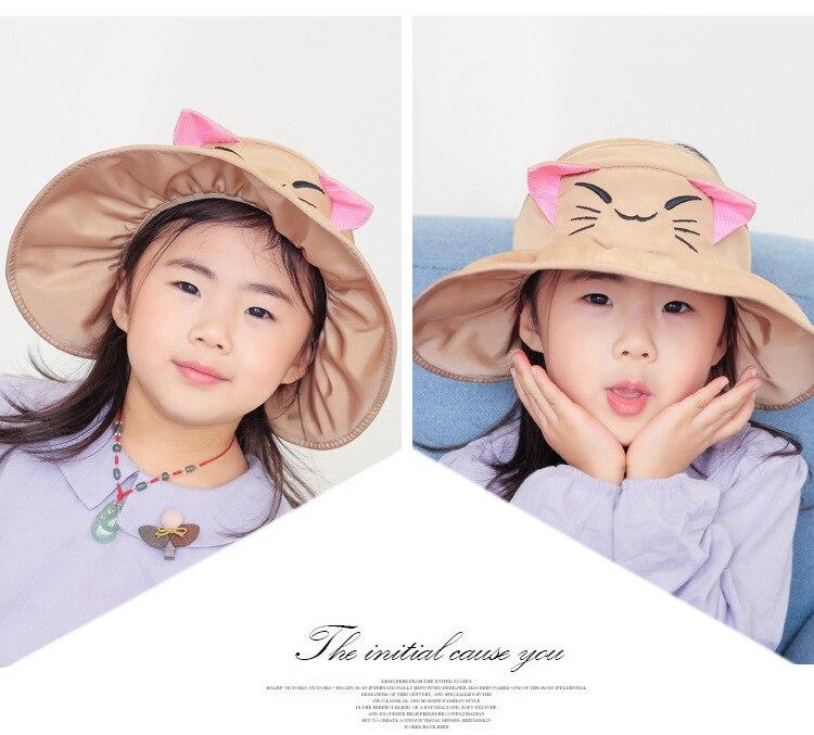 Cokk outono verão chapéus para meninas meninos
