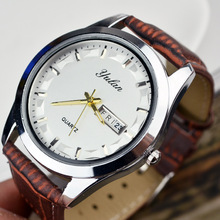 watch band 20mm Double calendar quartz movement Ladies Watch men Couple watches clock Watchband 16mm 20mm
