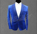 1 Sets 2016 new DS men's sequined suit nightclub costumes formal dress host emcee clothing apparel Concerts suit Wedding dress
