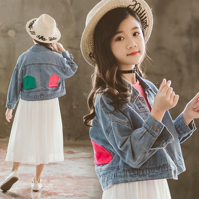 Bébé filles Denim veste pour fille printemps veste décontracté mode enfants Outwear bébé filles vêtements enfants tenue nouvelles Boutiques Jean