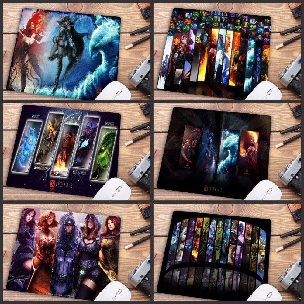 Mairuige Promotion Russia  Dota 2 Gaming Comfort Mouse Mat Gaming Rubber Small Size Mousepad Size For 180*220 *2mm