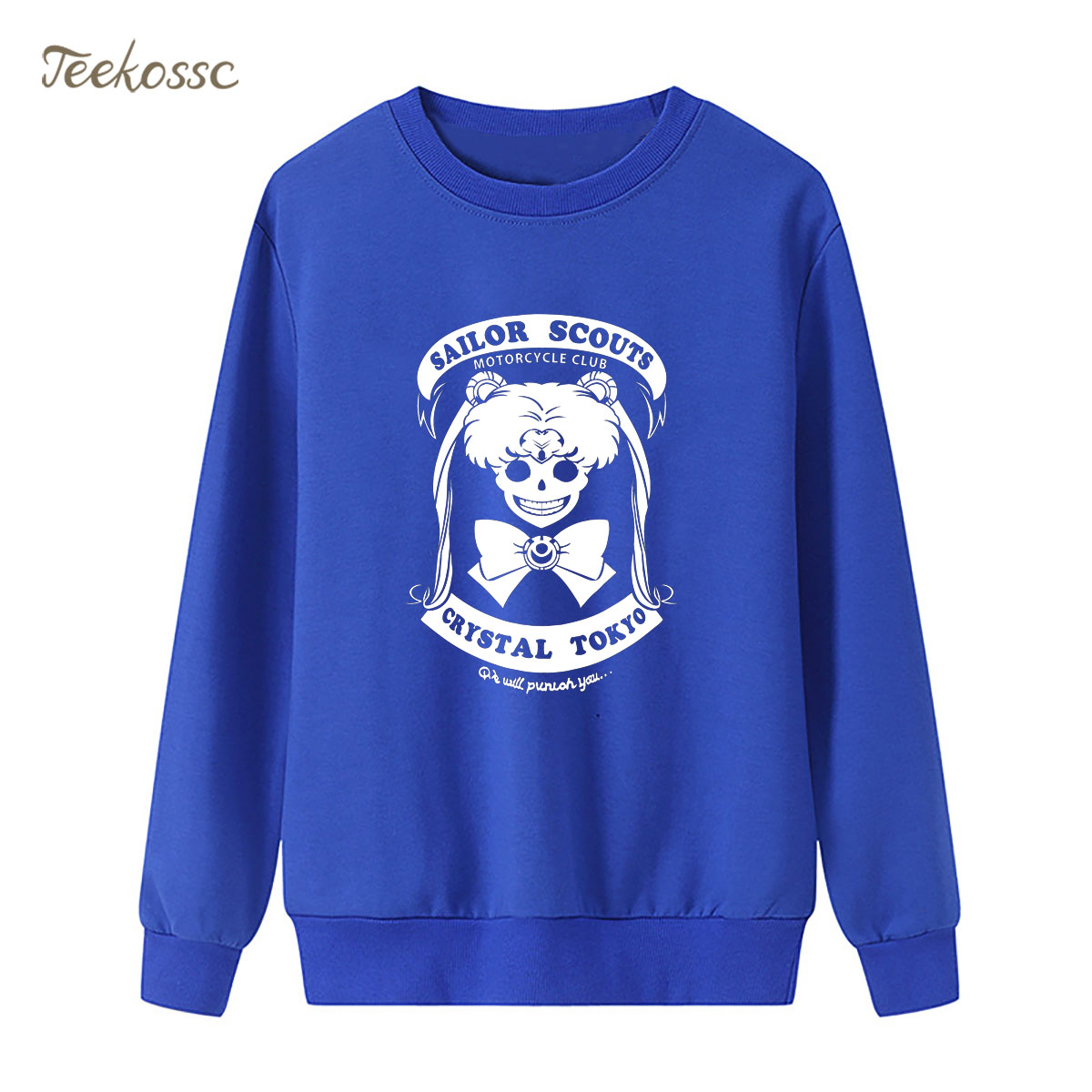 Cartoon Sailor Moon Sweatshirt Women Kawaii Hoodie 2018 New Fashion Winter Autumn Lasdies Pullover Loose Fleece Cute Streetwear
