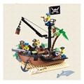 Nueva Llegada 178 unids Barco Pirata Abandonado Puerto Monte Ladrillos de Bloques de Construcción Para Niños Juguetes Modelo de Regalo de Navidad Para Los Niños