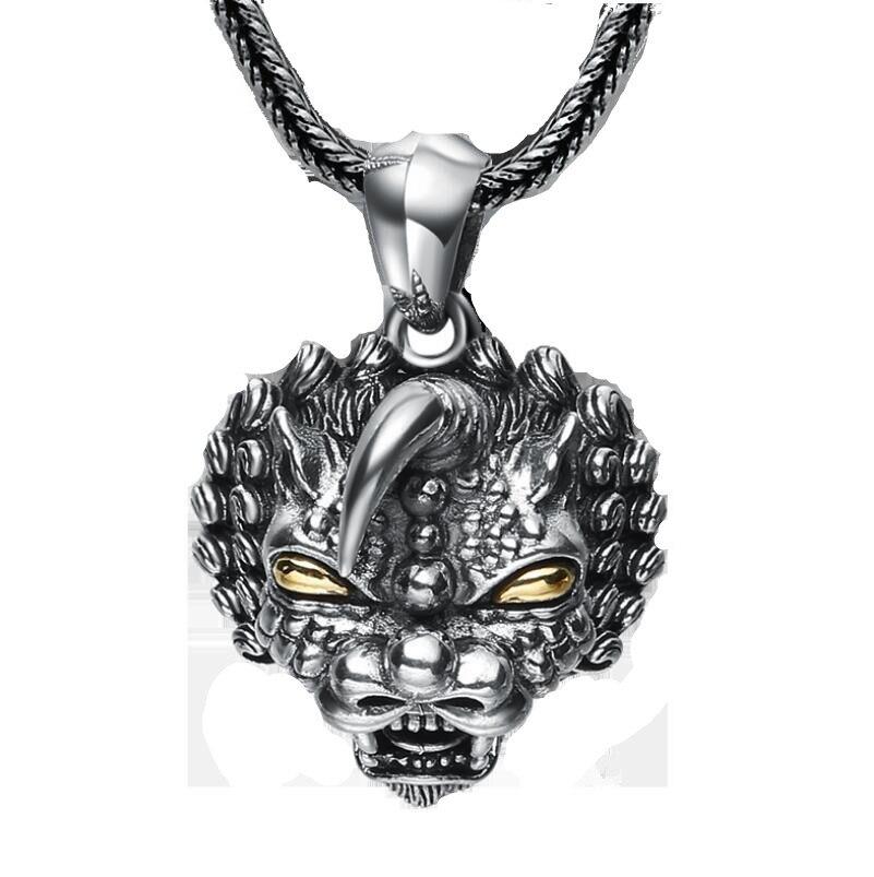 925 gioielli in argento sterling Unicorn pendente degli uomini (FGL)925 gioielli in argento sterling Unicorn pendente degli uomini (FGL)