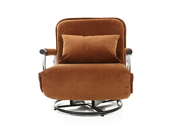 1 unids de múltiples funciones plegable ajustable suave perezoso tatami silla giratoria y sofá cama ( ajustable ) venta caliente