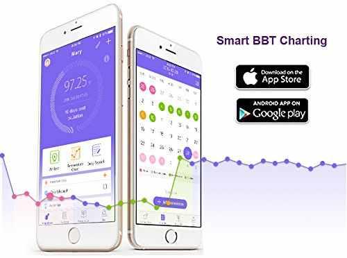 Pelvifine inteligentny termometr podstawowy owulacja predyktor App owulacja utwór naturalne planowanie rodziny Monitor płodności android ios