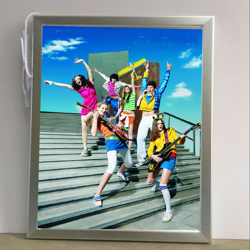A3 Single Side Snap Frames Led Light Pockets,Front Loading Aluminum Light Boxes for Retail,Theater,Museum