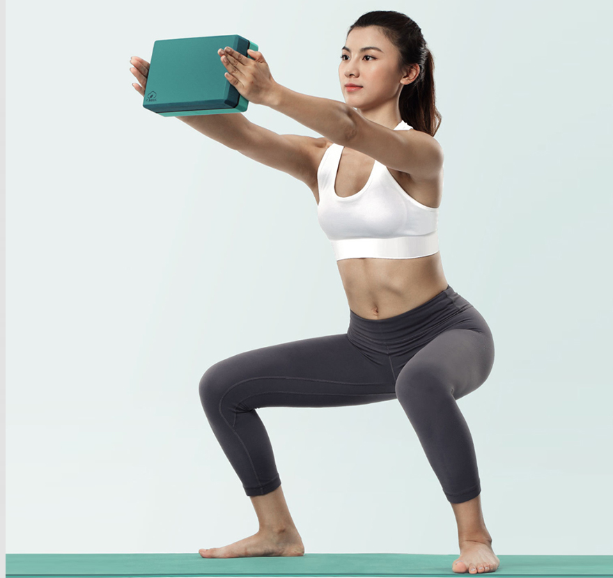 Image 5 - 2pcs/lot Xiaomi Youpin Yunmai High Density Brick Yoga Fitness Body Shaping Safe Odorless Brick for New Yoga Learner-in Smart Remote Control from Consumer Electronics