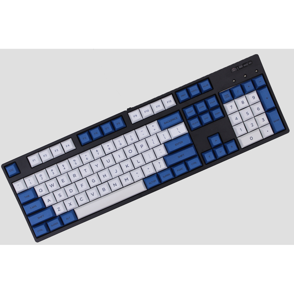 MP 145 DOLCH DSA Keycaps PBT Dye-Sublimated Keycap Cherry MX Switch Keycaps For Wired USB Mechanical Gaming Keyboard mp 104 87 keys red gradient cherry mx switch pbt keycaps radium valture side printed keycap for mechanical gaming keyboard