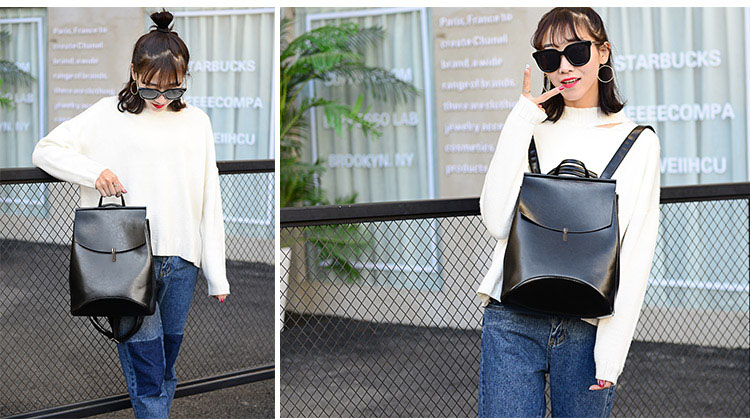 HTB1oF7lQVYqK1RjSZLeq6zXppXaE HOT Fashion Women Backpack High Quality Youth Leather Backpacks for Teenage Girls Female School Shoulder Bag Bagpack mochila