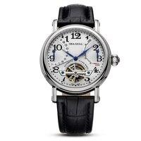 海カモメ腕時計 m172s 日付とパワーリザーブ表示自動機械式メンズ腕時計 m172s