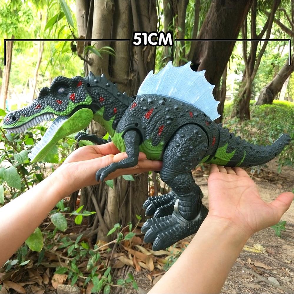 qualidade venda quente grande tamanho andando dinossauro 02