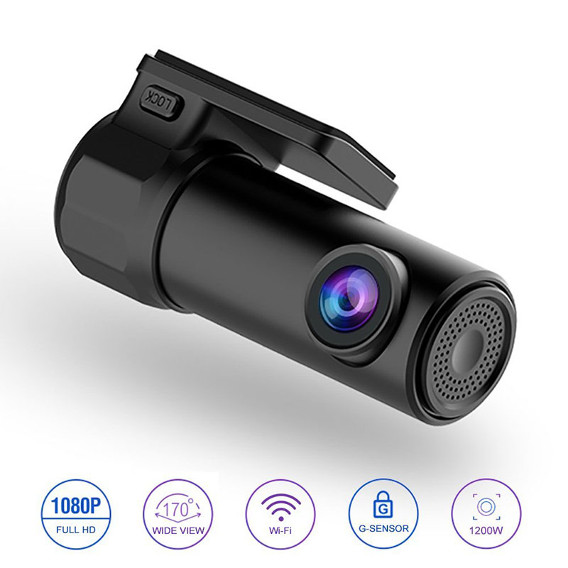 Liplasting USB Mini HD1080P Video Recorder Camera 360 Rotation Mobile Phone Wifi APP Manipulation Night Vision Car DVR Camcorder