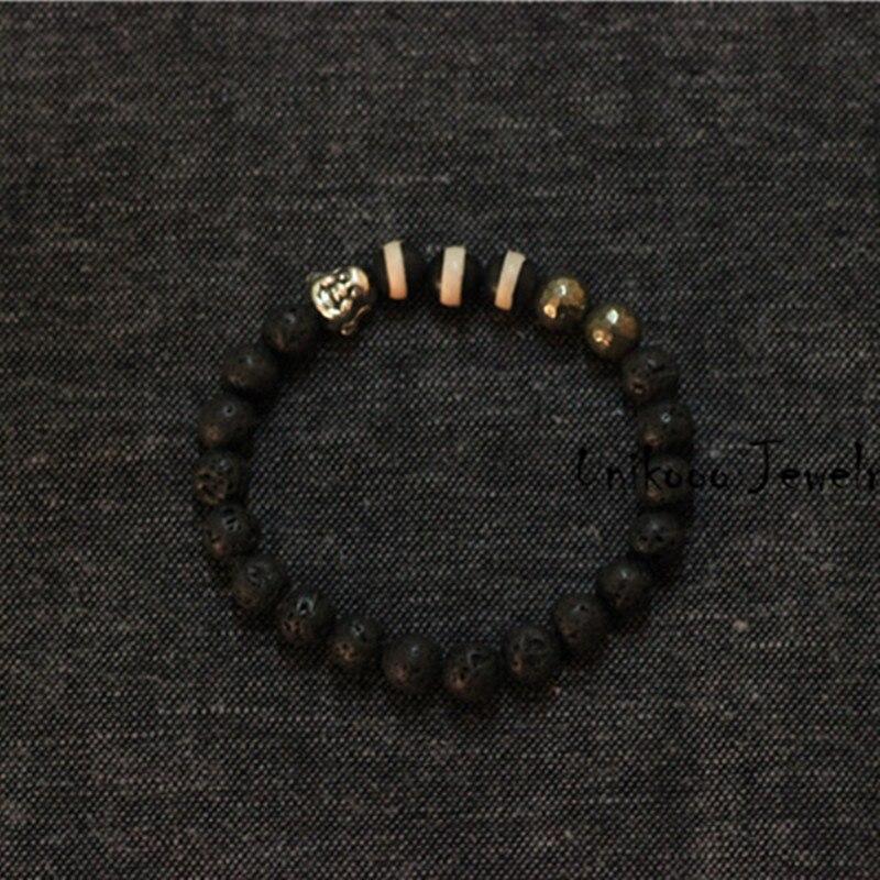 man buddha bracelet 925 sterling silver buddha stretch bracelets men buda beaded accessoires. Black Bedroom Furniture Sets. Home Design Ideas