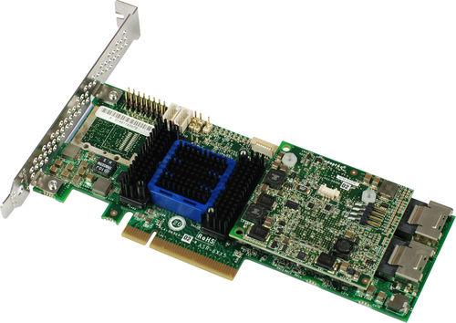 Adaptec ASR-6805 6GbSATA3 Raid Card Array Card 512M Cache Support RAID5 Used Like New